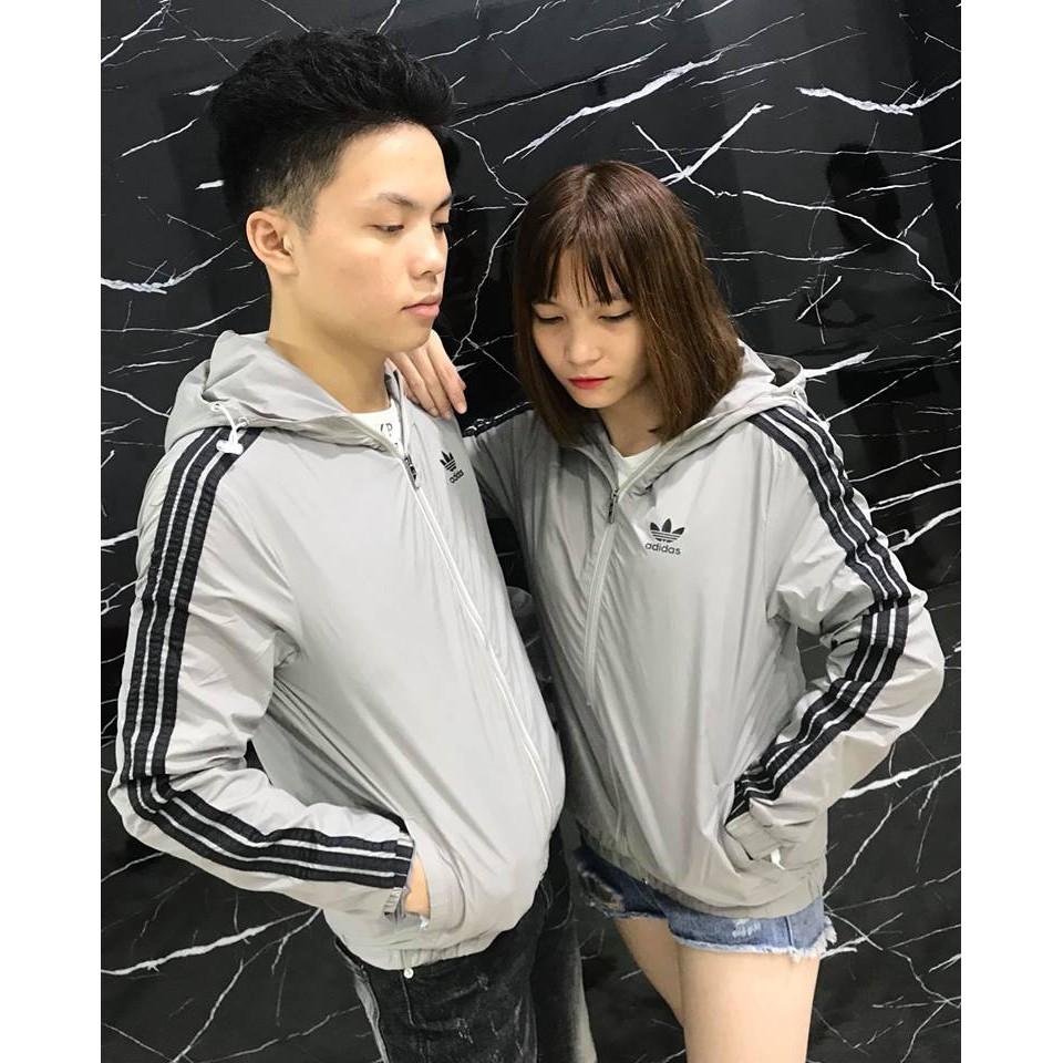 Áo gió Adidas mũ [7 màu]