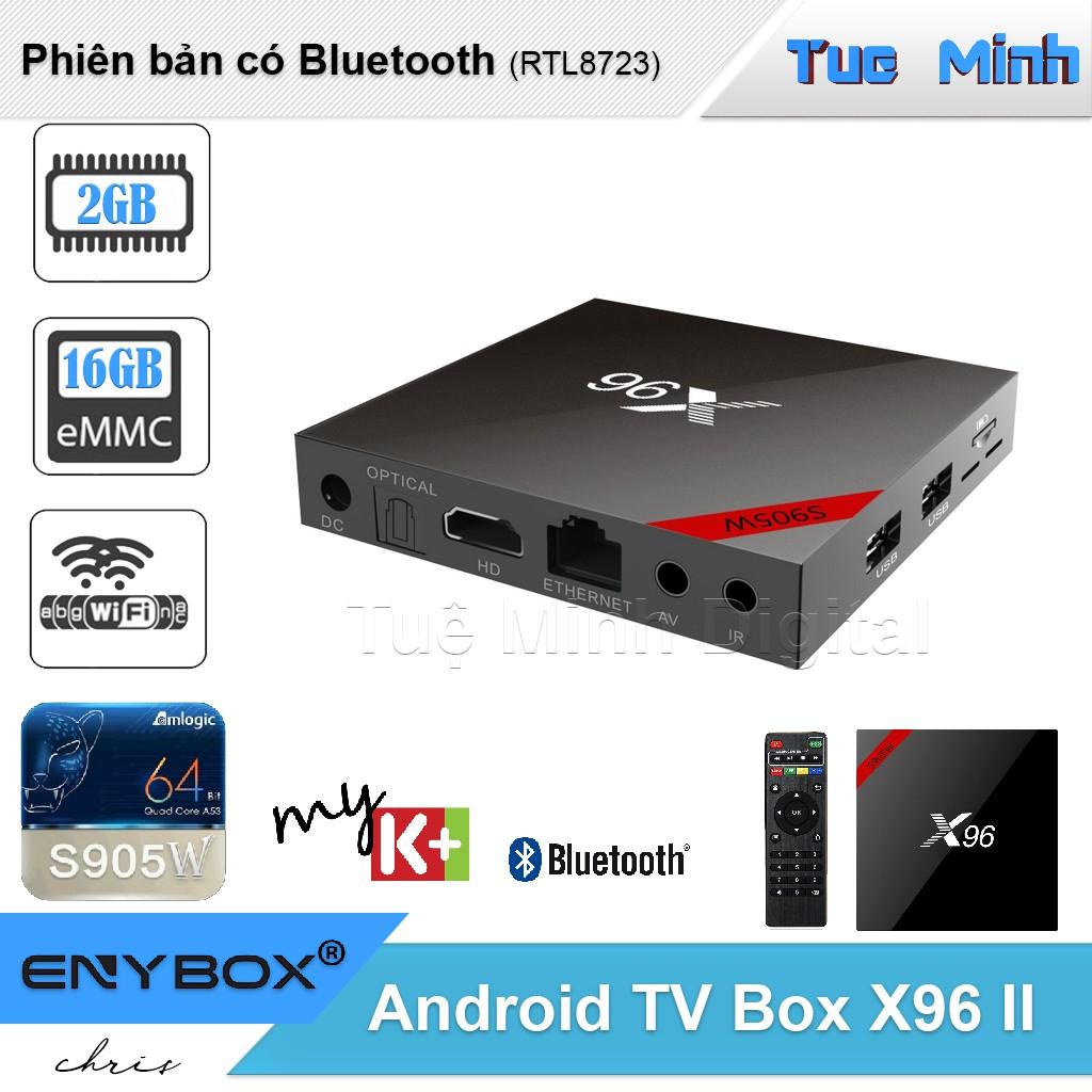 Android TV Box X96 II new phiên bản 2G Ram, 16G bộ nhớ trong, có bluetooth, CPU S905W và Android 7 - 3169165 , 744635365 , 322_744635365 , 840000 , Android-TV-Box-X96-II-new-phien-ban-2G-Ram-16G-bo-nho-trong-co-bluetooth-CPU-S905W-va-Android-7-322_744635365 , shopee.vn , Android TV Box X96 II new phiên bản 2G Ram, 16G bộ nhớ trong, có bluetooth, CPU