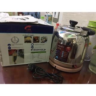 Bảo Hành 12Tháng Ấm siêu tốc siêu đun nước JIPLAI TL516 Thailand 6 lít inox
