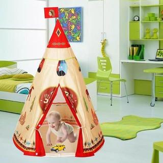 [FREE SHIP => 50K ] Lều vải họa tiết thổ dân da đỏ tự nhiên dành cho các bé