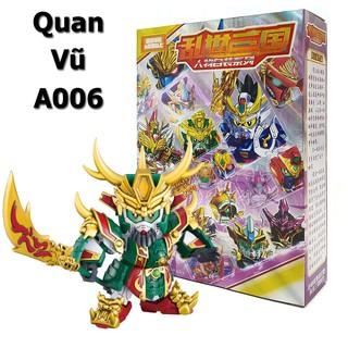 Đồ chơi lắp ráp SD BB Gundam A006 Quan Vũ - Gundam Tam Quốc New4all