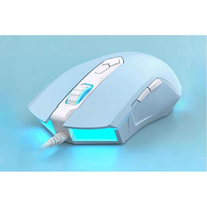 Chuột Gaming Có Dây AJAZZ AJ52 LED RGB 4800DPI - Hàng Chính Hãng