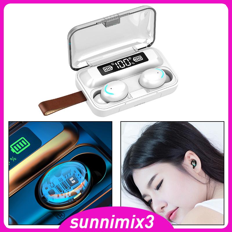 Tai Nghe Bluetooth 5.0 Không Dây F9-5 Tws 9d Âm Thanh Stereo Cho Ios / Android