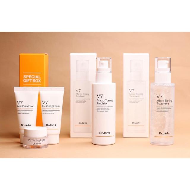 Set Dưỡng V7 Micro Toning Skin Care | Shopee Việt Nam