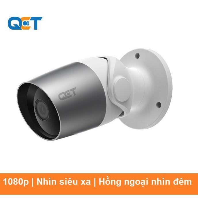 Camera IP ngoài trời outdoor QCT 1080p Quốc Tế | 12 tháng