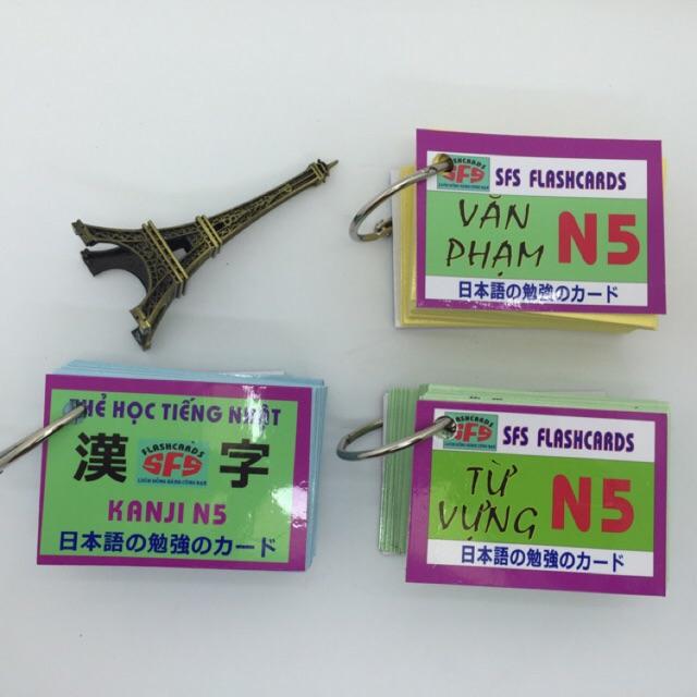 Bộ Thẻ học tiếng Nhật N5