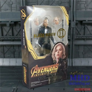 [MHĐ] Mô hình Figma Black Widow – Avengers Infinity War SHF