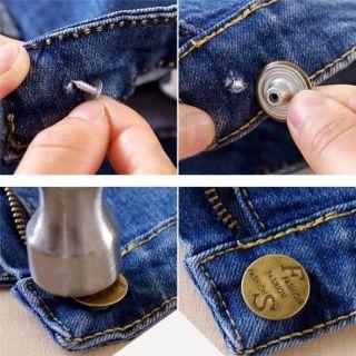 Nút quần jean ,nút đóng quần jeans loại tốt