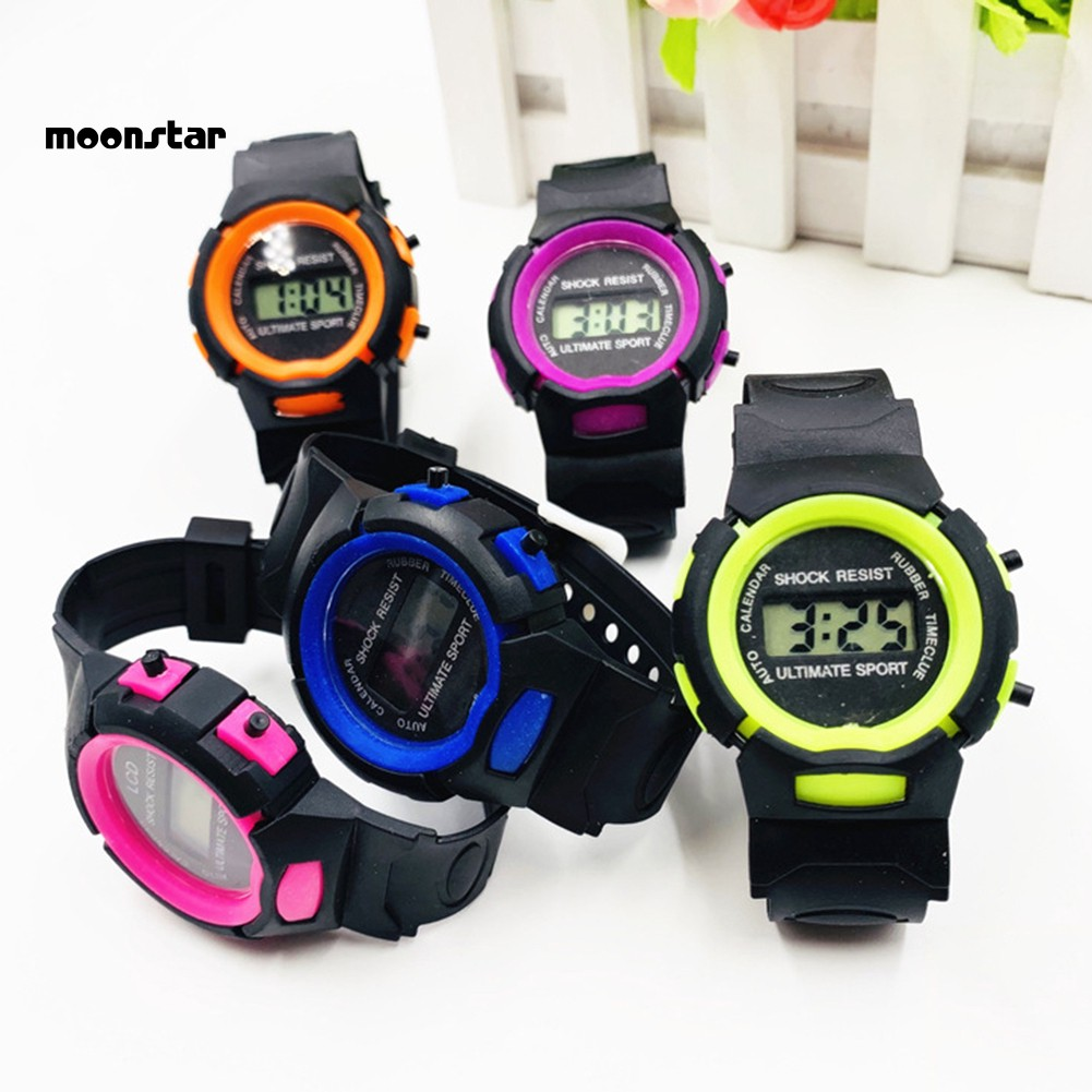 Đồng hồ điện tử kiểu dáng thể thao cho bé
