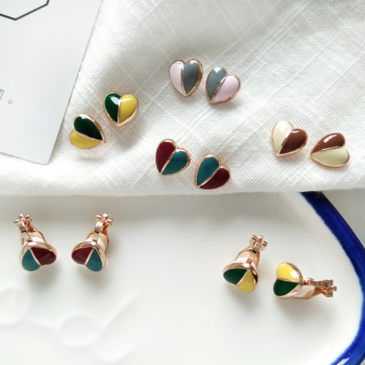 khuyên tai trái tim đính đá pha lê phong cách hàn quốc - 14358645 , 2271368689 , 322_2271368689 , 36400 , khuyen-tai-trai-tim-dinh-da-pha-le-phong-cach-han-quoc-322_2271368689 , shopee.vn , khuyên tai trái tim đính đá pha lê phong cách hàn quốc