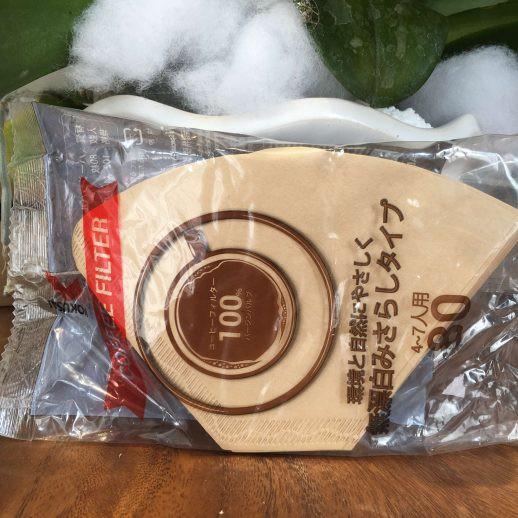 GIẤY LỌC CÀ PHÊ  KOKUSAI COFFEE PAPER FILTER 1×4 SIZE 103 – NÂU-80 TỜ