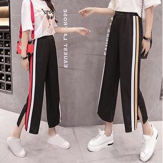 quần ống rộng Lưng Cao Phong Cách Hàn Quốc Thời Trang Xuân Hè Cho Nữ
