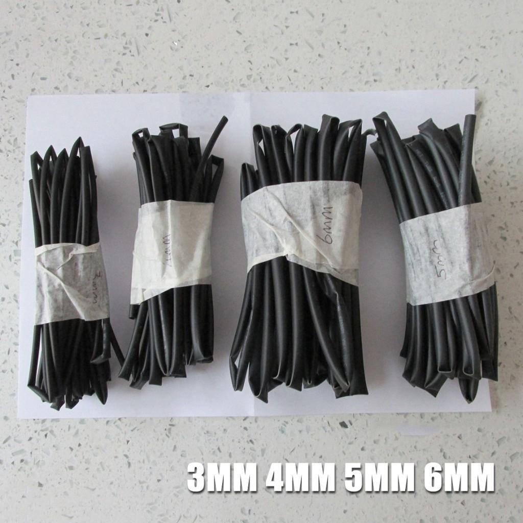 Set 4 ống co nhiệt 3-6mm tiện dụng