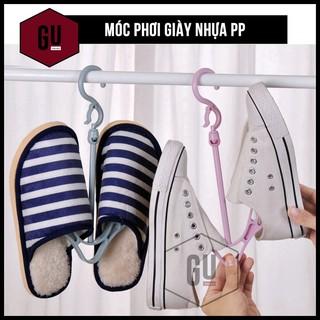 Móc treo giày, phơi giày CÓ GU tiện lợi thông minh, xoay 360 độ, không còn sợ mùa mưa (Giao ngẫu nhiên màu) thumbnail