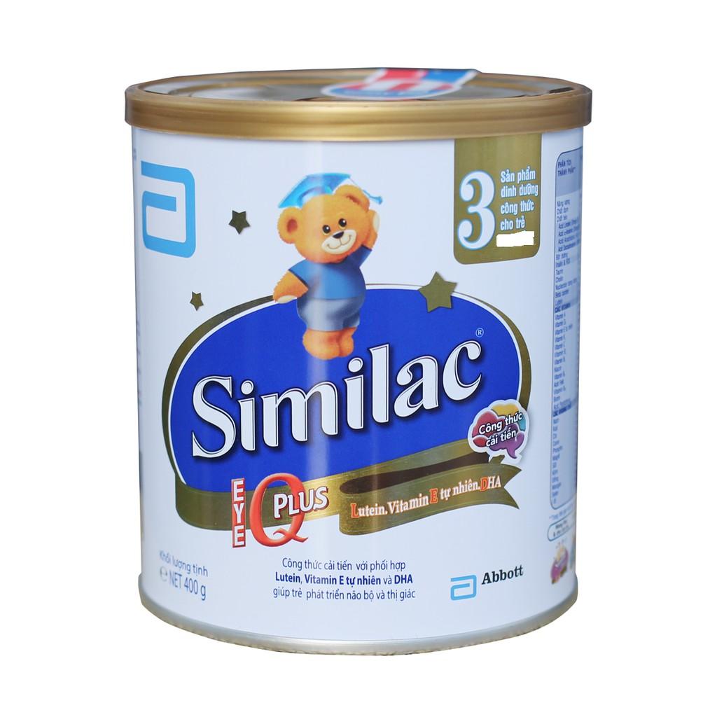 Sữa similac IQ plus 3 400g - 3105103 , 1015311210 , 322_1015311210 , 200000 , Sua-similac-IQ-plus-3-400g-322_1015311210 , shopee.vn , Sữa similac IQ plus 3 400g