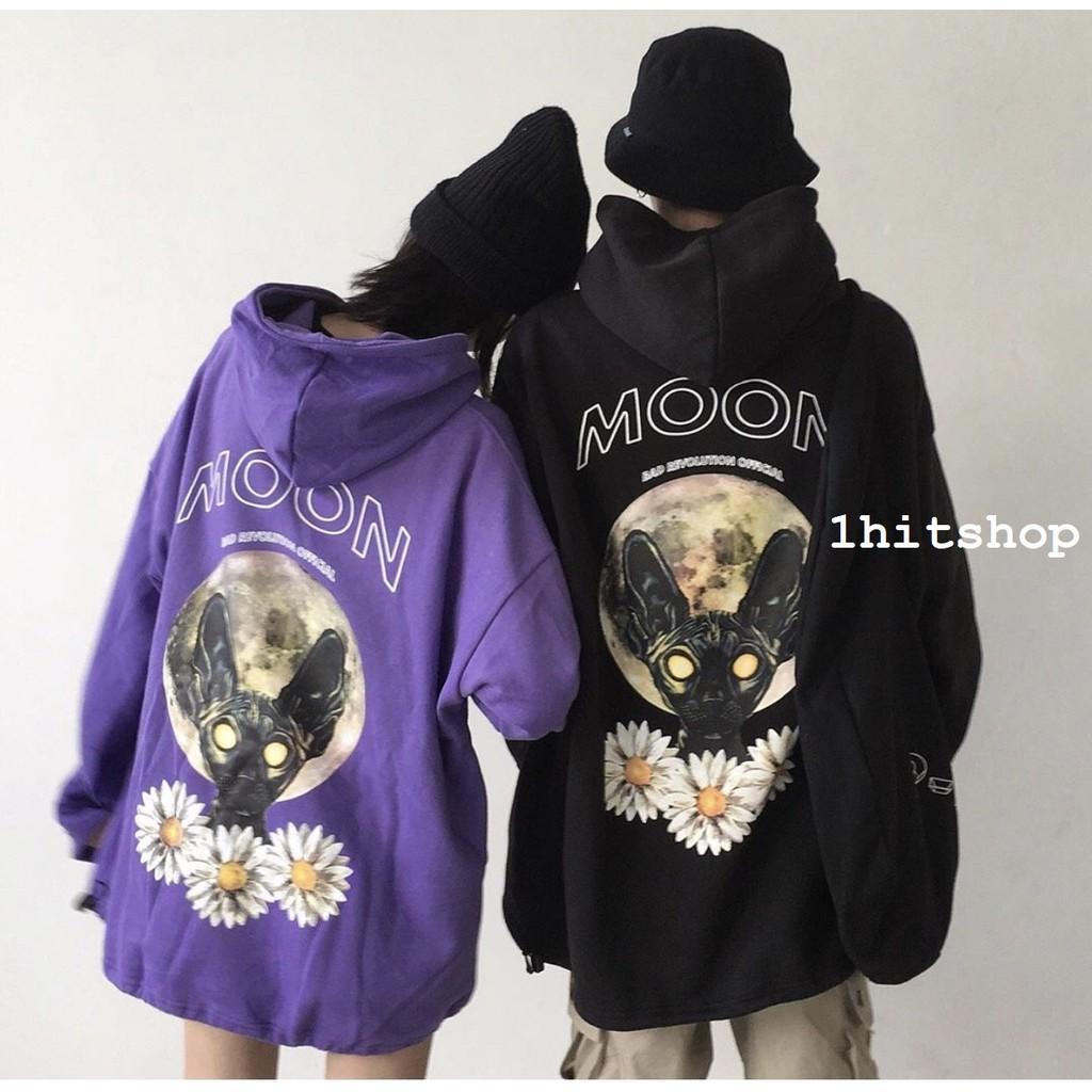 Áo Hoodie MOON CAT Unisex