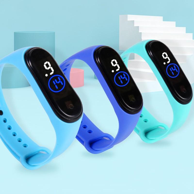 [Cực Hot] Đồng hồ điện tử thể thao đèn LED chống thấm nước Millet 4th cho bé
