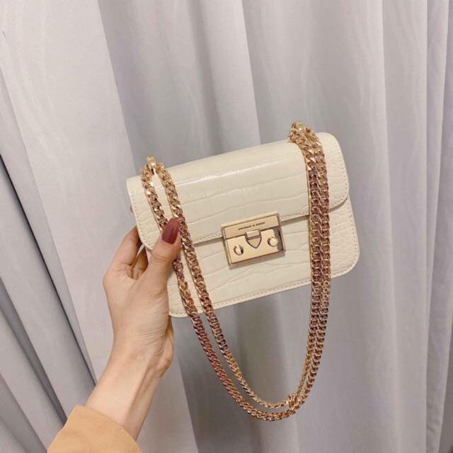 Túi đeo chéo thời trang nữ mini đi chơi dự tiệc cao cấp - Túi xách ữ đẹp HT21