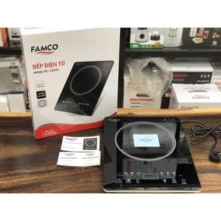 Bếp điện từ Famco (Elmich) 3301FC, kính chịu nhiệt cao cấp - Bảo hành 1 năm