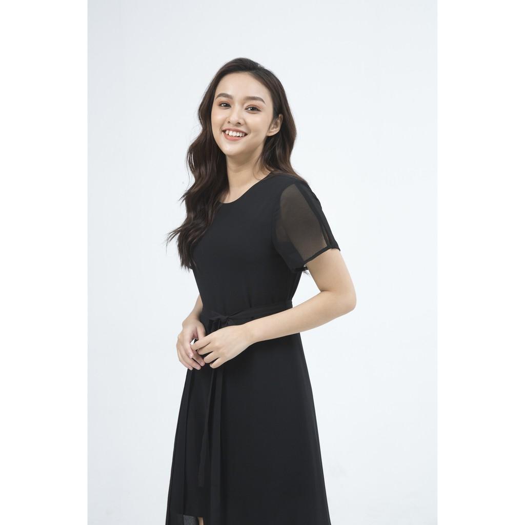 Ivy moda Đầm nữ 2 lớp MS 48M5224