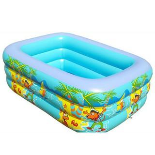 tongkhohanoi_ Bể bơi 3 tầng 130 cm , Kèm Bơm Bể