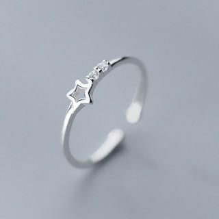 Nhẫn Bạc Nữ 925 Đẹp Đơn Giản Hình Ngôi sao cho Nữ N2469 - Bảo Ngọc Jewelry
