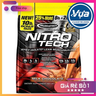 Sữa tăng cơ MuscleTech Nitro-Tech (10 Lbs) – Authentic 100%