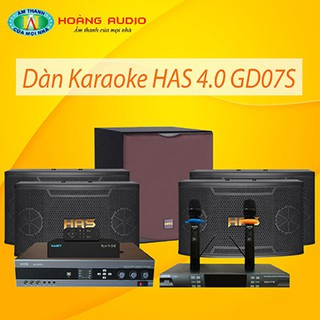 Bộ dàn karaoke gia đình HAS 4.0 GD07S thumbnail