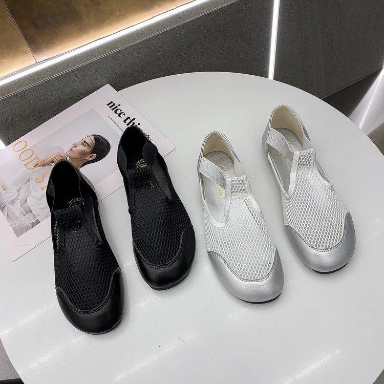 Giày Thể Thao Dạng Lưới Thoáng Khí Thời Trang 2021 Cho Nữ