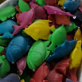 1kg Cá nhựa cân câu cá đã bắt vít sẵn