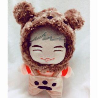 Set yếm gấu cho doll 20cm
