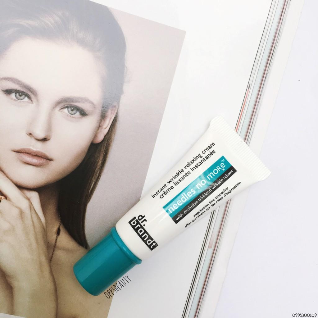 [Dr.Brandt] Kem dưỡng làm mờ nếp nhăn Needles No More Instant Wrinkle relaxing cream
