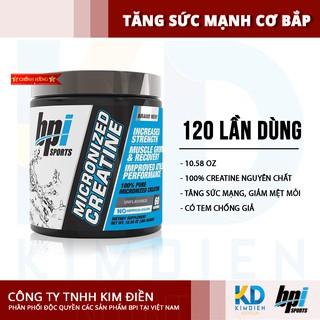 [Mã COSHOT8 giảm 10% đơn 350K] BPI Sport Micronized Creatine -Tăng sức mạnh, giảm mệt mỏi, xây dựng cơ bắp