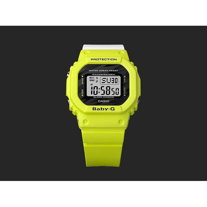 Đồng hồ casio nữ dây nhựa BABY-G BGD-560TG-9DR chính hãng