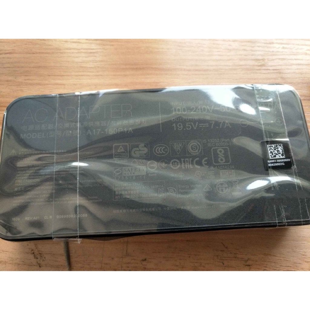 Bộ Sạc Laptop Asus Zenbook Pro Ux580gd-bn059t,150w 19.5v Ac/dc