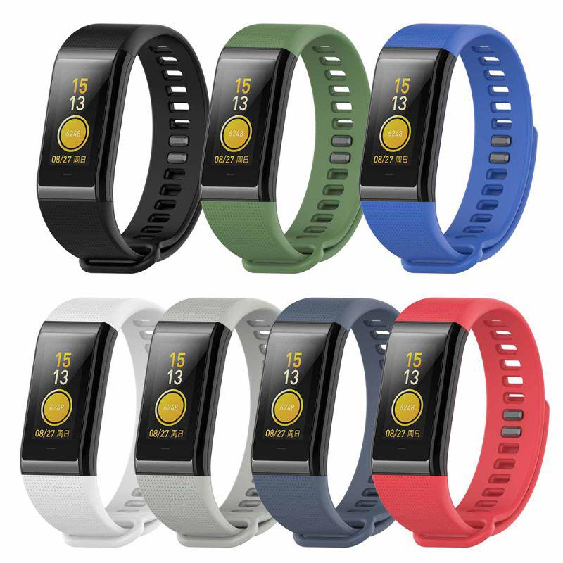 Dây đeo thay thế bằng silicone cho Xiaomi Huami Amazfit Cor A1702 English version