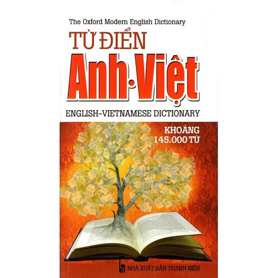 Sách - Từ Điển Anh - Việt (Khoảng 145.000 Từ) (2014) - Sách Bỏ Túi