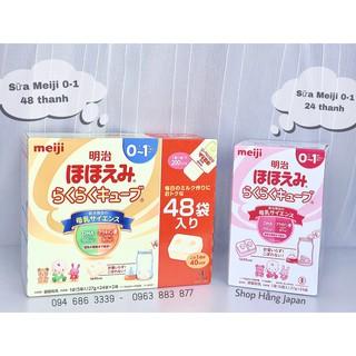 Sữa thanh Meiji 0-1_24 thanh thumbnail