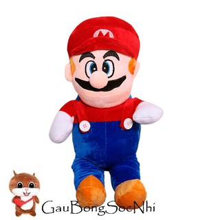 Gấu bông hoạt hình Mario đứng