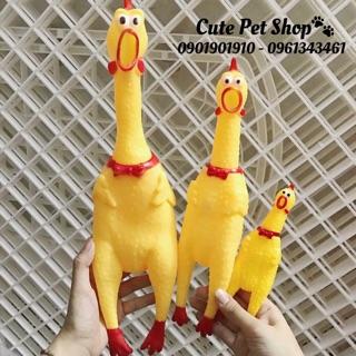Gà nhựa Shrilling Chicken đã về đủ size🐥
