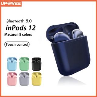 Tai Nghe không dây Bluetooth i12  Không Dây 5.0 Kèm Mic Màu Macaron