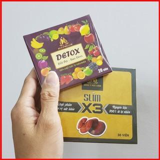 Giảm Cân X3 Mộc Linh FREESHIP giảm cân nhanh hiệu quả - Tặng Detox Giảm Cân thumbnail