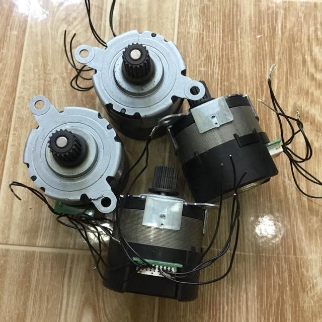 Động cơ không chổi than (brushless motor) 12-24v 10w trục 5mm chế quạt cánh 30cm