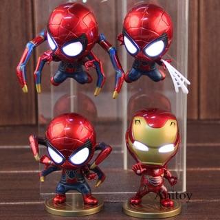 ✨✨ Mô Hình Cosbaby Iron Man ~ Spider Man ✨✨ Loại có đèn ✨✨