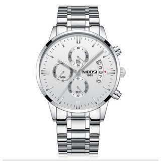 Đồng hồ nam Nibosi 2309 full 6 kim cao cấp (White) thumbnail