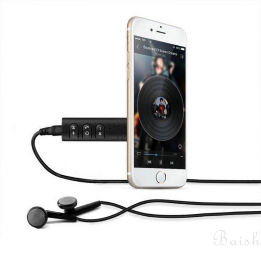 Baish Thiết bị thu phát Bluetooth âm thanh AUX với giắc 3.5mm cho xe tô ô Giá chỉ 36.720₫