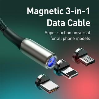Hình ảnh Cáp Sạc USB Baseus Từ Tính cho iPhone OPPO Realme-1
