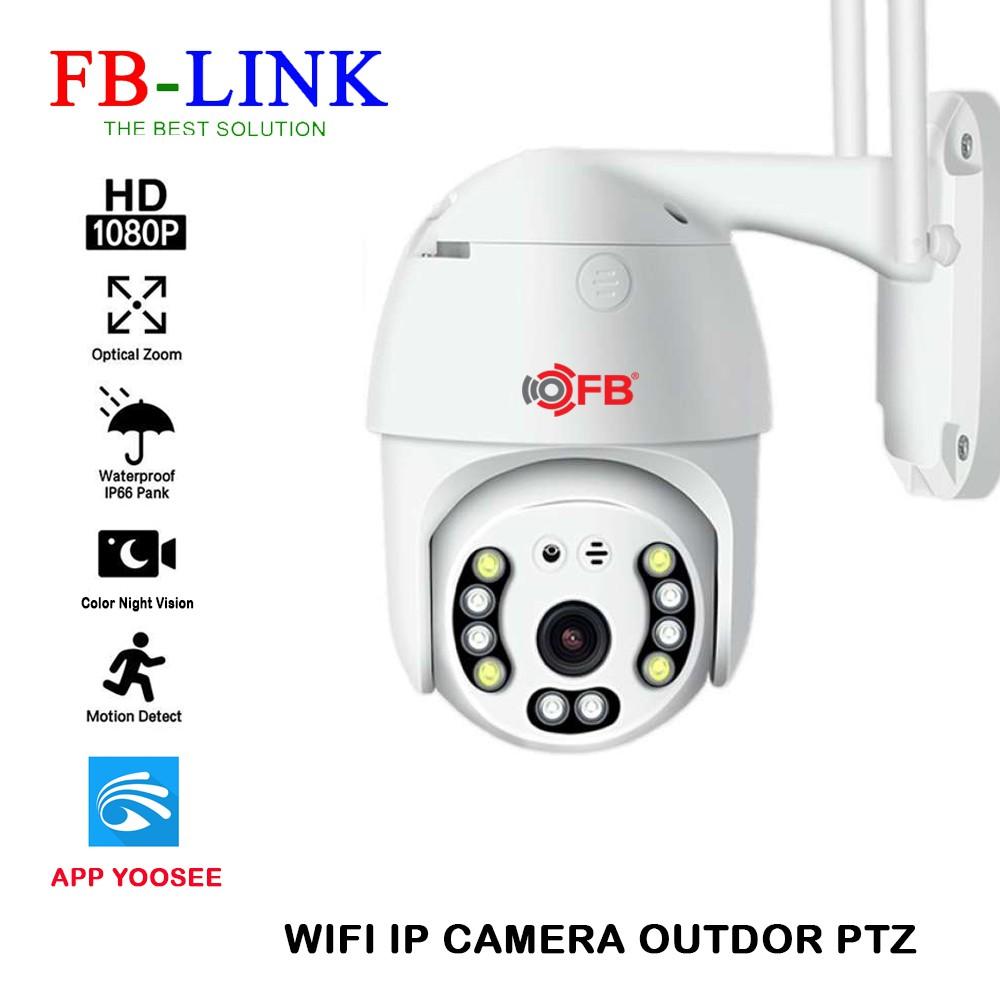 Camera IP Wifi Ngoài trời FB-Link GT-5200 Full HD (App Yoosee – QUAY đêm có màu) + Adapter (BẢO HÀNH 6 THÁNG)