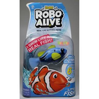 Đồ chơi Robot cá tự bơi Fish Zuru Robo Alive thông minh cực bền