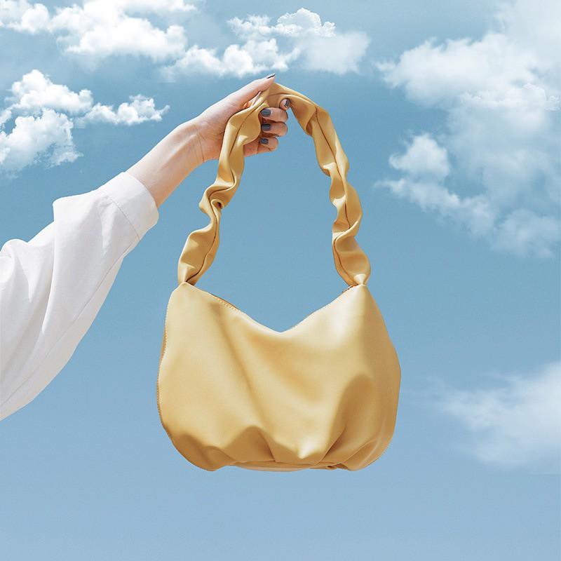 Túi xách nữ - Túi đeo vai dây xoắn cực cá tính size lớn thoải mái để đồ đi chơi, đi du lịch 5 màu cá tính 36076